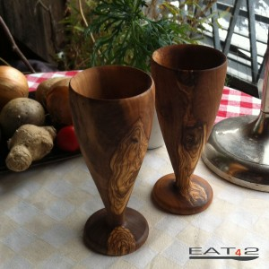 Cup out of wood