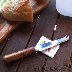Salami Messer mit Olivenholzgriff