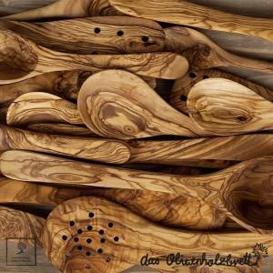 Produkte für die Küche aus Olivenholz