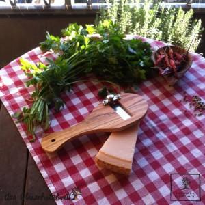 truffle slicer, olivewood