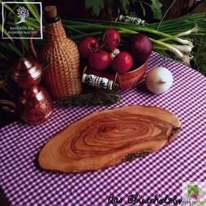 """tagliere in legno di ulivo serie """"Rustic Nature"""""""