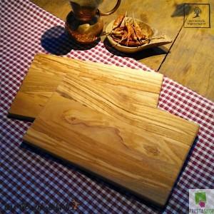 Breakfast board, classic rectangular, set of two