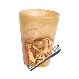 Cups made out of olive wood