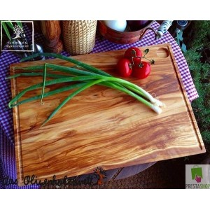 "Olive wood cutting board serie ""Modern Life"""