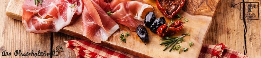Olivenholz für die Brotzeit mit Stil